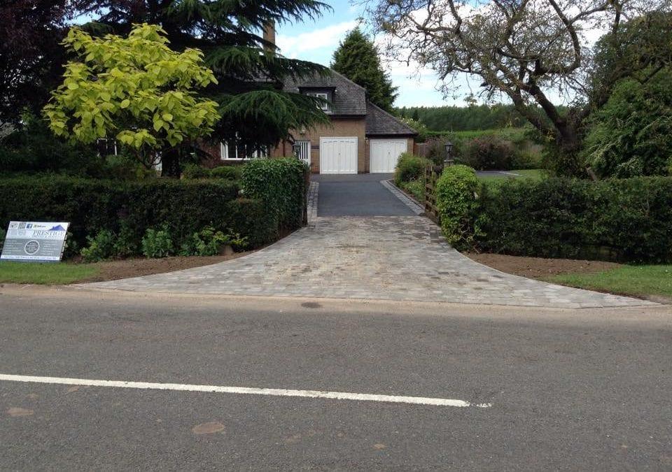 New Driveway Cropston