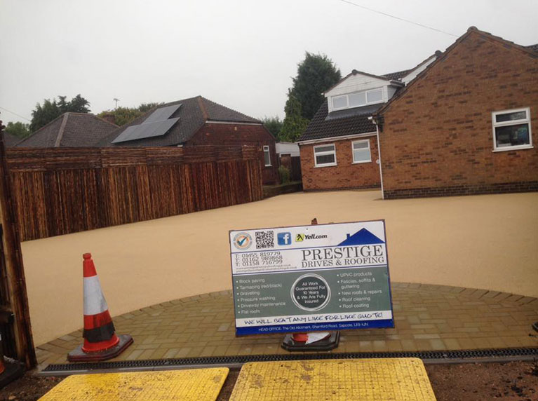 New Resin Driveway Leicester