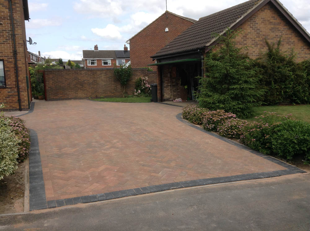 Block Paving Driveway In Ibstock Leicestershire By