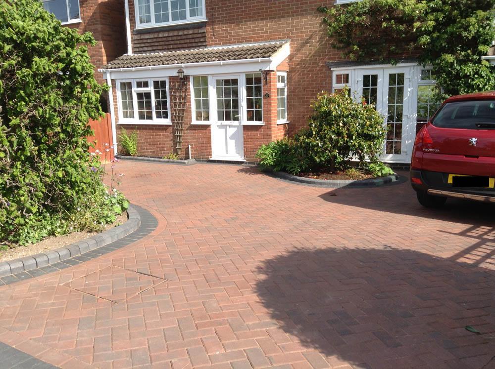 New Block Paving Driveway In Market Bosworth Prestige