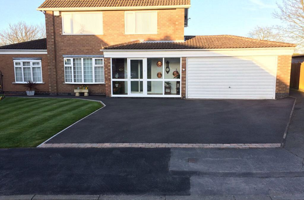 New Tarmac Driveway, Cossington Nr Loughborough