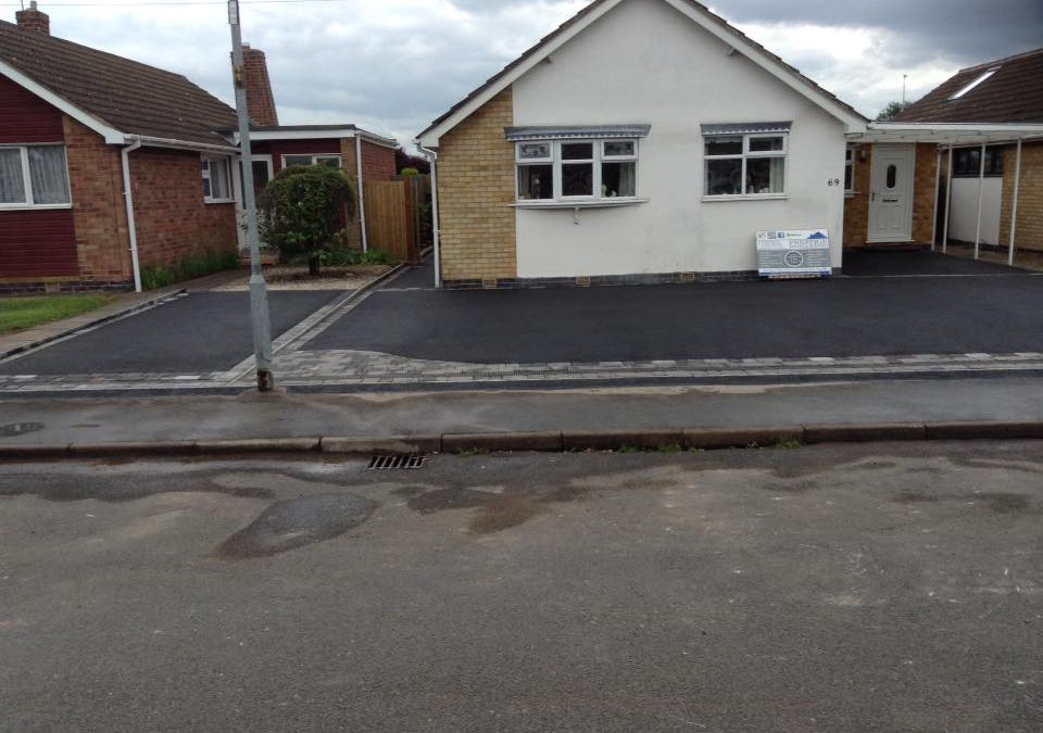 New Tarmac Driveway, Queniborough, Leicester