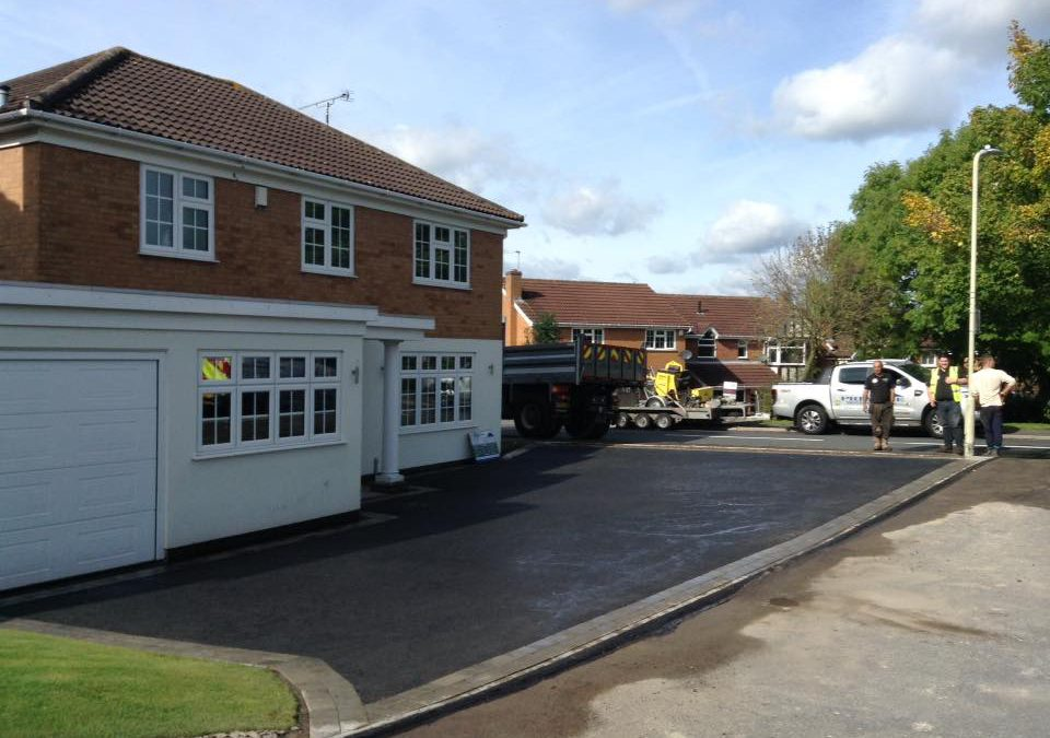 New Tarmac Driveway in Narborough