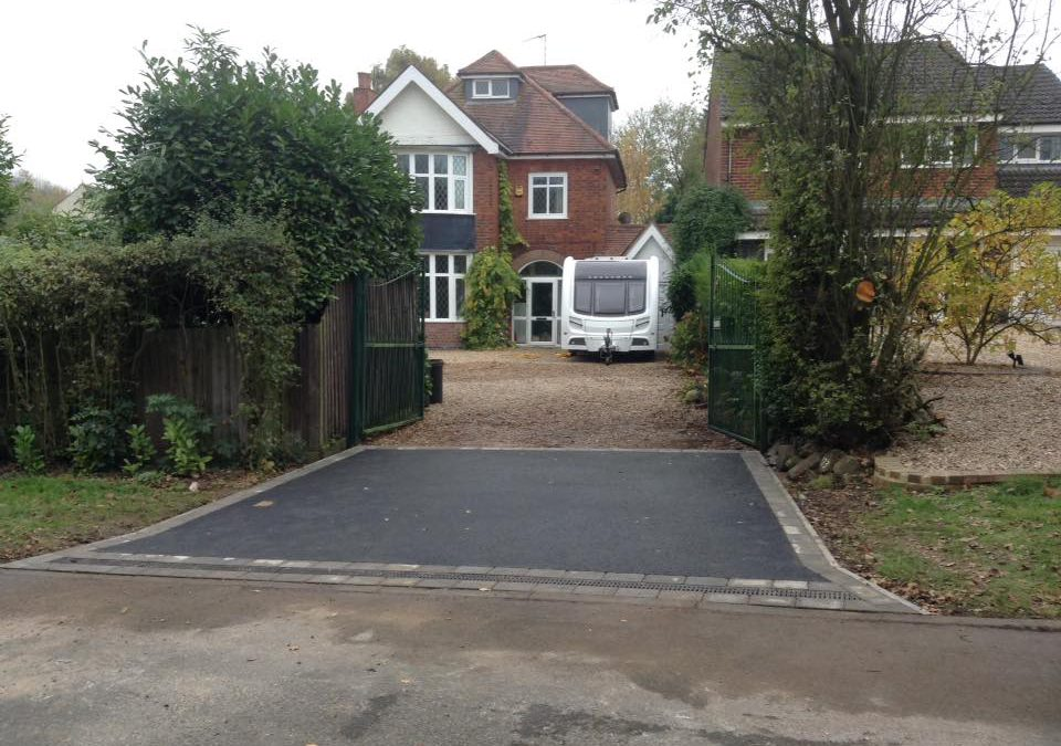 New Tarmac Driveway (Entrance) in Anstey