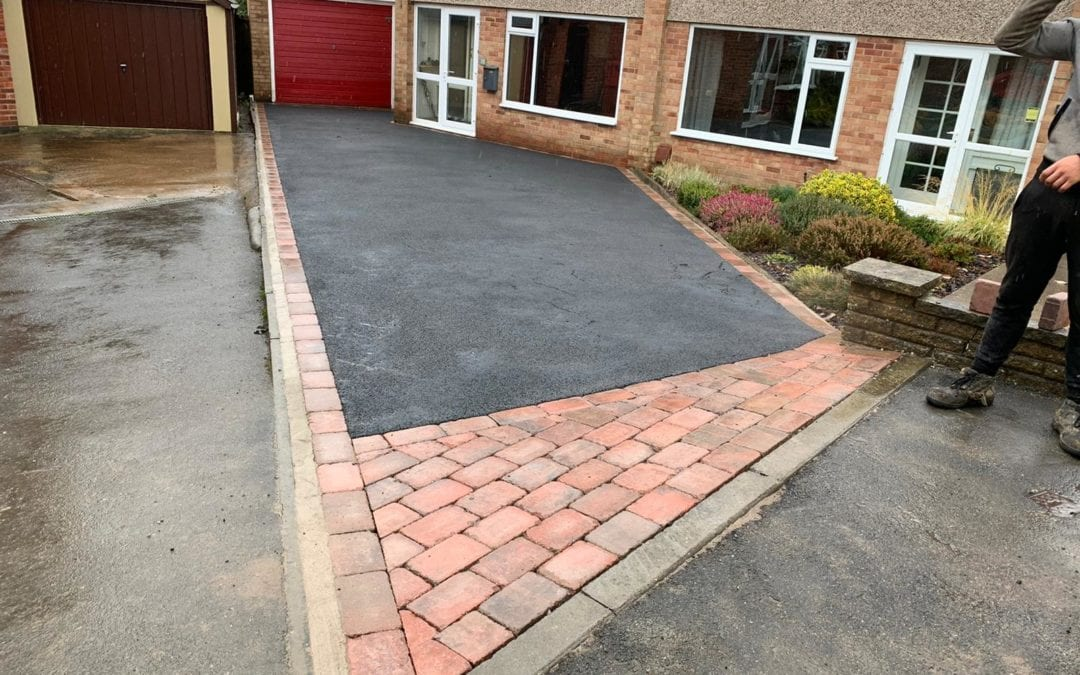 New Driveway in Anstey